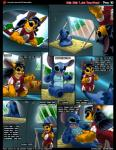 2017 alien black_eyes black_hair blue_fur claws clothed clothing comic disney english_text experiment_(species) eyes_closed fangs female fur hair kitsune_youkai lilo lilo_and_stitch male one_eye_closed open_mouth orange_fur stitch teeth text tongue translated youngRating: SafeScore: 19User: cinnamon365Date: March 26, 2017