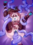 2016 4_toes 5_fingers anthro arm_above_head barefoot bear bed biped blue_blush blue_nipples blue_pawpads blue_pussy blue_tongue blush bracelet breasts brown_fur brown_nose butt butt_grab chigui_(character) clitoris clothing coiling collar digital_drawing_(artwork) digital_media_(artwork) dripping drooling eye_markings eyewear female fur glasses hair hand_on_butt hindpaw humanoid_hands hybrid inner_ear_fluff jewelry leg_grab legs_up legwear lizardbat_(artist) long_tail looking_pleasured lying mammal markings mostly_nude motion_lines multicolored_fur nipples on_back on_bed open_mouth panda pawpads paws penetration pillow purple_background pussy pussy_juice reptile saliva saliva_string scalie sex short_hair simple_background sleep_sex sleeping small_breasts socks solo sound_effects tentacle_sex tentacles thigh_grab thigh_highs thigh_socks toeless_socks toes torogao two_tone_fur two_tone_tail undressing vaginal vaginal_penetration white_fur white_hair zzzRating: ExplicitScore: 7User: facelessmessDate: August 21, 2017