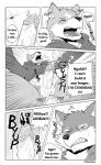abs big_muscles bottomless canine clothed clothing coat comic cum dog eyes_closed fur greyscale half-dressed male male/male mammal monochrome multicolored_fur muscular muscular_male naruever one_eye_closed open_mouth penis teeth wink wolf  Rating: Explicit Score: 8 User: Vallizo Date: November 09, 2015