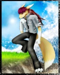 alexzuta anthro canine digimon fox male mammal renamon solo tailszuta   Rating: Safe  Score: 3  User: tailszuta  Date: April 12, 2012