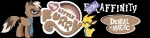 alpha_channel banner brony brown_fur crossover denial dotrook dragon dragoneer equine fender feral fur furaffinity horse male mammal my_little_pony necktie pony rednef scalie yellow_body