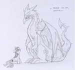black_and_white dragon duo equine female feral friendship_is_magic hair horn horse lolover long_hair male mammal monochrome my_little_pony pony scalie sketch spike_(mlp) twilight_sparkle_(mlp)   Rating: Safe  Score: 3  User: jojo400  Date: April 24, 2012