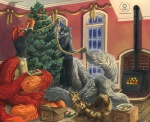 2007 anthro canine christmas christmas_tree cute female feral fox furries_with_pets group holidays inside kacey krinele levis mammal molly_fullin multiple_tails pet tree  Rating: Safe Score: 8 User: Kald Date: February 19, 2010
