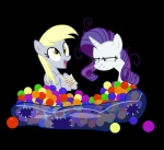 ball_pit derpy_hooves_(mlp) duo equine female feral friendship_is_magic horn kyle23emma mammal my_little_pony pegasus rarity_(mlp) unicorn wings   Rating: Safe  Score: 8  User: TheTundraTerror  Date: July 26, 2014