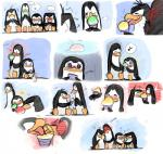 blush comic cute dreamworks group kissing kowalski madagascar male male/male modestgliscor private rico skipper snowcone the_penguins_of_madagascar tongue  Rating: Safe Score: 5 User: Zest Date: December 24, 2014