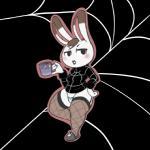 aintsmart animal_crossing anthro bottomless clothed clothing female fishnet lagomorph mammal nintendo panties rabbit solo sweater tiffany_(animal_crossing) underwear video_games  Rating: Safe Score: 4 User: BasedMoog Date: July 08, 2015