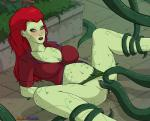 batman_(series) blush breasts cleavage clothed clothing consentacles dc_comics eroticphobia female green_skin hair human mammal not_furry penetration poison_ivy pussy red_hair solo spread_legs spreading tentacle_sex tentacles vaginal vaginal_penetration  Rating: Explicit Score: 5 User: EroticPhobia Date: April 08, 2016