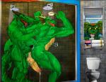 2014 abs after_sex against_wall alex_(jrbart) anthro anus backsack balls bathroom being_watched bent_over biceps blood butt claws crocodile cum cum_on_penis cum_string dragon english_text erection green_skin group happy horn humanoid_penis inside jrbart long_penis looking_back male male/male manly mayonnaise muscles nosebleed nude orgasm pecs penis rax_(underax) reptile scalie sharp_claws sharp_teeth shower size_difference small_dom_big_sub smile soap spikes standing teeth text thick_penis toilet tongue tongue_out uncut varanis_blackclaw vein veiny_penis water wet window  Rating: Explicit Score: 24 User: WiiFitTrainer Date: June 25, 2014