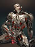 cum dildo erection herm intersex machine maleherm marvel mechanical metal not_furry penis red_eyes robot sex_toy solo ultron   Rating: Explicit  Score: 0  User: Silkywere  Date: May 30, 2015