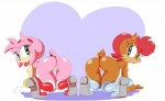 2015 amy_rose anthro big_breasts breasts butt chipmunk cloudz duo female hedgehog mammal pussy rodent sally_acorn sonic_(series)  Rating: Explicit Score: 7 User: Robinebra Date: August 04, 2015