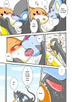 blue_eyes blush comic eyes_closed female floatzel french_kissing karasu_mikazuki kemono kissing luxray male nintendo penis pokémon sex translated video_games yellow_eyes   Rating: Explicit  Score: 3  User: KemonoLover96  Date: March 27, 2015