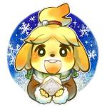 animal_crossing anthro blush canine dog female isabelle_(animal_crossing) mabo mammal nintendo scarf solo video_games   Rating: Safe  Score: 5  User: Juni221  Date: February 28, 2014