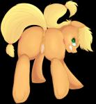 alpha_channel angry anus applejack_(mlp) blonde_hair blush clitoris cutie_mark cycloned equine female freckles friendship_is_magic fur hair half-closed_eyes horse looking_at_viewer mammal my_little_pony orange_fur plain_background pony pussy pussy_juice solo teeth transparent_background   Rating: Explicit  Score: 5  User: EmoCat  Date: May 18, 2015