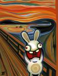 absurd_res ambiguous_gender edvard_munch hi_res hilarious humor inspired_by_proper_art misteringo painting parody rabbids raving_rabbids screaming solo the_scream ubisoft video_games  Rating: Safe Score: 16 User: DeltaFlame Date: February 28, 2015""