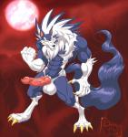 2015 abs animal_genitalia balls big_balls canine canine_penis claws darkstalkers digitigrade erection full_moon glowing glowing_eyes hungothenomster jon_talbain knot male mammal moon muscles nude penis solo vein video_games were werewolf wolf yellow_eyes   Rating: Explicit  Score: 3  User: HoboAssassin  Date: April 27, 2015