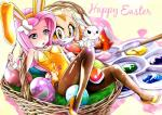 alternate_species angel_(mlp) anthro breasts clothed clothing cream_the_rabbit crossover easter egg female fluttershy_(mlp) friendship_is_magic group holidays human humanized lagomorph mammal my_little_pony rabbit sonic_(series)  Rating: Questionable Score: 8 User: tomahawklegend Date: April 03, 2015