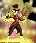 2015 anthro anthrofied blue_eyes bow_tie chair clothing equine female fluttershy_(mlp) friendship_is_magic hair hat mammal my_little_pony omny87 pegasus pink_hair ringmaster ringmaster_outife solo top_hat whip wings   Rating: Safe  Score: 6  User: 2DUK  Date: May 16, 2015