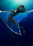 2011 anthro black_hair butt cyan_eyes hair jotaku looking_at_viewer looking_back male manta_ray nude rear_view solo underwater water   Rating: Questionable  Score: 2  User: Knotty_Curls  Date: May 22, 2015