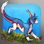 1:1 2019 blue_fur deviant-soulmates digital_media_(artwork) dragon fur furred_dragon grass green_eyes hi_res horn white_furRating: SafeScore: 4User: MillcoreDate: May 19, 2019