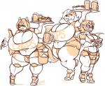 alcohol anthro beverage big_breasts breasts bulge canine clothed clothing dickgirl female food group huge_breasts humanoid hyper hyper_breasts intersex jintonic mammal monochrome overweight standing waiterRating: QuestionableScore: 2User: Cat-in-FlightDate: February 19, 2018