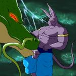 abs anthro balls beerus biceps big_muscles clothed clothing cum cum_in_mouth cum_inside cum_leaking cum_on_balls cum_on_penis dragon dragon_ball dragon_ball_super duo ear_piercing eastern_dragon erection feline fellatio feral glowing glowing_eyes gs male mammal muscular muscular_male nipples oral pants pecs penis piercing red_eyes reptile scales scalie sex shenron signature size_difference topless whiskers  Rating: Explicit Score: 5 User: syrmat Date: January 17, 2016