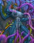 anal big_breasts breast_milking breasts demon female lactating landingzone milk muscular oral penetration pussy tentacle_sex tentacles vaginal  Rating: Explicit Score: 12 User: fan_ippiki_ookami Date: October 01, 2015