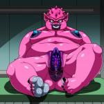 alien anus bed big_anus big_breasts breasts dodoria dragon_ball female hi_res looking_at_viewer no_one nude obese on_bed overweight pussy pussy_juice sitting smile soles solo  Rating: Explicit Score: 2 User: slyroon Date: November 19, 2015