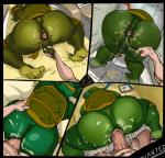 anal anal_penetration anus balls butt cum donatello_(tmnt) erection from_behind green_skin leonardo_(tmnt) male male/male michelangelo_(tmnt) penetration penis raphael_(tmnt) reptile scalie sex teenage_mutant_ninja_turtles turtle vein xen  Rating: Explicit Score: 9 User: israfell Date: November 11, 2015