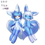 anthro blue_fur blue_hair breasts cat duo featureless_breasts feline female fur hair hand_holding japanese_text looking_at_viewer male mammal meowstic ni_jikan nintendo nude paws pokémon signature simple_background small_breasts text video_games white_background white_fur white_hair  Rating: Questionable Score: 5 User: Jackalfag Date: April 12, 2016