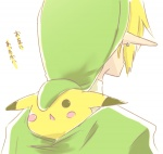 :< blonde_hair blush blush_stickers close-up cute ear_piercing fur gii_(bikikosan) hair hat human hylian jewelry link male mammal nintendo open_mouth piercing pikachu pointy_ears pokémon rear_view rodent short_hair simple_background super_smash_bros the_legend_of_zelda translated under_clothes video_games yellow_fur  Rating: Safe Score: 20 User: Daniruu Date: May 08, 2012