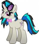 black_hair blue_hair bow_tie cutie_mark earth_pony equine eyewear female feral friendship_is_magic hair hi_res horn horse hybrid mammal multicolored_hair my_little_pony octavia_(mlp) pony simple_background solo unicorn vinyl_scratch_(mlp) white_background  Rating: Safe Score: 5 User: QuetzalcoatlColorado Date: April 28, 2016
