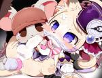 anal anal_masturbation anthro balls blush cat cat_busters chrona_(cat_busters) clothed clothing crossdressing cum cum_on_self cum_while_penetrated dagasi fangs feline hat kemono male mammal masturbation mouse orgasm penetration penis purple_eyes rodent simple_backgroundRating: ExplicitScore: 1User: lolazoDate: May 22, 2018