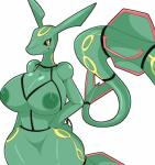 absurd_res anthro anthrofied areola big_breasts blush breasts claws digital_media_(artwork) dragon female hand_on_hip hi_res huge_breasts inverted_nipples legendary_pokémon looking_at_viewer nintendo nipples nude pokémon pokémon_(species) pokémorph rayquaza scalie simple_background smile solo teeth thick_thighs tousoni3 video_games white_background wide_hips yellow_eyesRating: QuestionableScore: 46User: MudkiploverDate: December 11, 2018