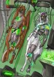 anthro bionic bionical canine cyber cybernetics cyborg digitigrade dragon dragonnetstorm duo feline hybernation hybrid male mammal mecha mechanical membranous_wings nude scalie sleeping suspension tiberius tobias wings wolf   Rating: Safe  Score: 5  User: orionnetstorm  Date: December 29, 2014