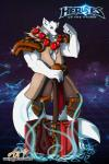 anthro azaleesh blizzard_entertainment blue_eyes canine claws coltron cosplay costume flexing hammer heroes_of_the_storm horde male mammal muscles paws pose smile solo thrall tools video_games warcraft weapon world_of_warcraft  Rating: Safe Score: 0 User: Azaleesh Date: July 19, 2015