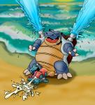anthro blastoise cum cumshot drooling ejaculation fangs handjob male male/male nintendo open_mouth orgasm orgasm_face penis penis_size_difference pokémon saliva sex size_difference tongue totodile two-handed_handjob video_games waterRating: ExplicitScore: 3User: usernamDate: May 13, 2017