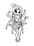 arachnid arthropod black_and_white black_eyes breasts cosplay fangs female hair_bow high_heels looking_at_viewer metal_gear metal_gear_rising:_revengeance mistral monochrome muffet multi_limb multiple_eyes noseless smile solo spider tea_cup undertale unknown_artist video_games wide_hips  Rating: Safe Score: 3 User: ROTHY Date: October 02, 2015
