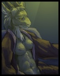 anthro breasts caprine chair clothing elfantastico female goat mammal nipples nude open_shirt partially_clothed portrait robe shirt sitting solo   Rating: Questionable  Score: 11  User: Anomynous  Date: June 09, 2011