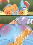 applejack_(mlp) friendship_is_magic my_little_pony rainbow_dash_(mlp) zat   Rating: Explicit  Score: 1  User: ellegarden  Date: April 26, 2015