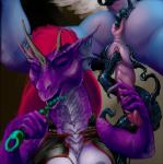 2015 anal anal_beads anal_penetration antar_dragon anthro beads breasts butt double_penetration dragon duo erection female goo handjob herm herm/female insertion intersex intersex/female penetration purple_scales pussy scalie sex_toy tentacles vaginal vaginal_penetration  Rating: Explicit Score: 2 User: h4x0r Date: August 14, 2015