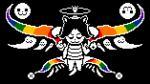 black_background canine cat clothing crown deity digital_media_(artwork) dog feline hair mammal rainbow simple_background snarferman solo tag tem temmie_(undertale) undertale video_games  Rating: Safe Score: 19 User: Kellex Date: December 15, 2015