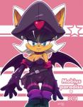 2014 <3 anthro bat big_breasts blue_eyes blush breasts cleavage clothed clothing collar female hair looking_at_viewer mammal nancher rouge_the_bat smile solo sonic_(series) white_hair wings  Rating: Questionable Score: 11 User: Robinebra Date: August 21, 2014