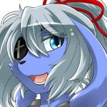 blue_eyes canine dog ehime_mikan eye_patch eyewear hair kemono mammal open_mouth white_hair  Rating: Safe Score: 0 User: Komaru Date: August 03, 2015