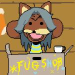 2015 animated animation clothed clothing cup cute digital_media_(artwork) grey_hair hair low_res open_mouth pixel_(artwork) pixel_animation solo spurdo temmie_(undertale) text undertale unknown_artist  Rating: Safe Score: 3 User: SpectralDreams Date: September 28, 2015