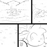 anthro ass_up caprine clothed clothing comic fall female lagomorph mammal monochrome pictographics rabbit sheep slypon solo thought_bubble trail   Rating: Safe  Score: 9  User: TheHuskyK9  Date: March 20, 2014
