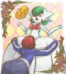 ! ? ambiguous_gender blush calem duo gardevoir human mammal mega_evolution mega_gardevoir myuutau_tadakichi nintendo pokémon red_eyes video_games  Rating: Questionable Score: 3 User: Nuji Date: October 28, 2015