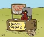 2016 aliasing anthro clipboard english_text humor kobold outside pencil_(object) scalie solo text trout_(artist) tumbleweed