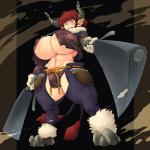 2_tails abs animal_humanoid big_breasts bovine breasts bulge cleaver clothed clothing cow_humanoid dickgirl ear_piercing facial_scar gloves hair hataraki_ari holding_object holding_weapon hooves horn huge_breasts humanoid intersex knife low-angle_view mammal melee_weapon midriff multi_tail muscular muscular_dickgirl muscular_intersex navel panties pants piercing pointy_ears red_hair scar shimomo short_hair signature solo tail_tuft tuft under_boob underwear weapon yellow_eyesRating: QuestionableScore: 4User: Blind_GuardianDate: May 21, 2018
