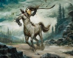 arrow bow centaur equine hair holding_weapon hooves human landscape lucas_graciano magic_the_gathering male mammal mask muscles official_art quiver restricted_palette running solo taur undead weapon   Rating: Safe  Score: -1  User: Circeus  Date: December 31, 2014
