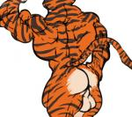 anthro back balls butt feline fur furry_(artist) madagascar male mammal muscles rear_view solo tiger vitaly_the_tiger   Rating: Explicit  Score: 4  User: xes  Date: June 16, 2014